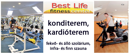 best life fitness center pécel